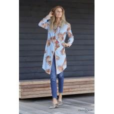 Costamani, Charlotta Dress med Palmeblade