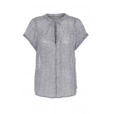 Costamani bluse med bindebånd