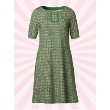 du Milde Carolines Green Short Sleeves
