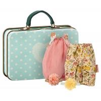 Maileg micro kuffert m. 2 kjoler